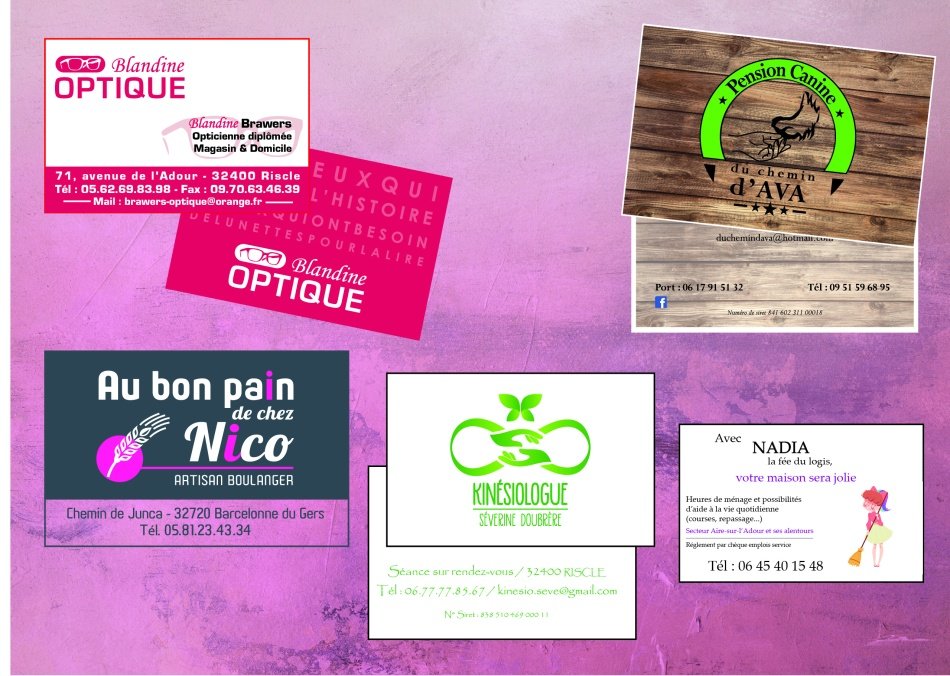 Cartes De Visite So Concept Communication